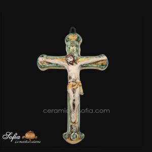 Crocifissi, ceramiche artistiche siciliane