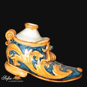 Antichi scaldamani, ceramiche artistiche siciliane