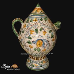 Bummulu Malandrinu, ceramiche artistiche siciliane