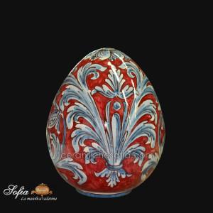Uova, ceramiche artistiche siciliane