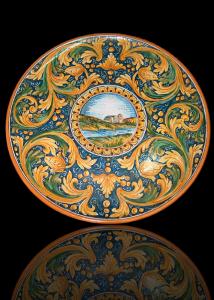 piatti in ceramica di caltagirone
