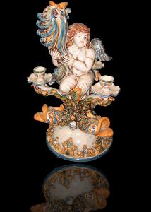 angeli in ceramica di caltagirone