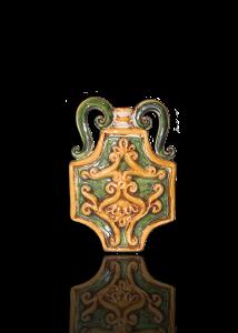 bottiglie in ceramica di caltagirone